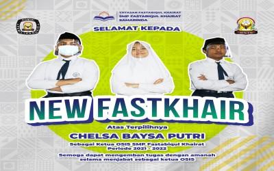 Debat Kandidat dan Pemilihan Ketua OSIS SMP Fastabiqul Khairat Samarinda Periode 2021-2022